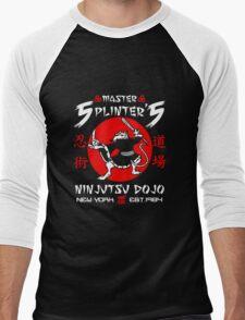 Master Splinter Ninjutsu Men's Baseball ¾ T-Shirt