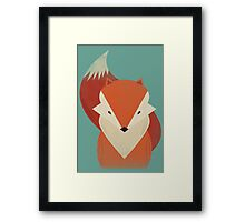 The Wise Red Fox Framed Print