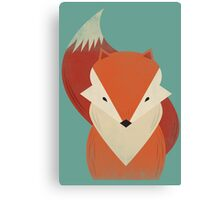 The Wise Red Fox Canvas Print