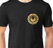 Battlestar Andromeda Golden Logo Unisex T-Shirt
