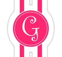 Curlz G Sticker