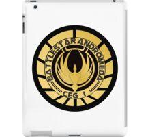 Battlestar Andromeda Golden Logo iPad Case/Skin