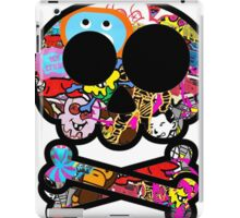 Skull Sticker Bomb iPad Case/Skin