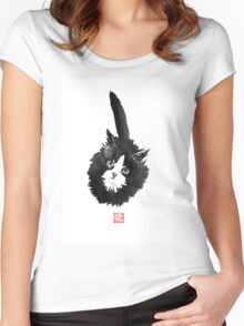 ball of fur Women's Fitted Scoop T-Shirt