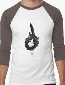 ball of fur Men's Baseball ¾ T-Shirt