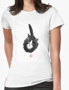 ball of fur Womens Fitted T-Shirt