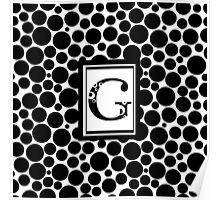 G Bubbles Poster
