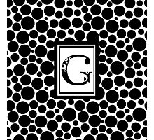 G Bubbles Photographic Print
