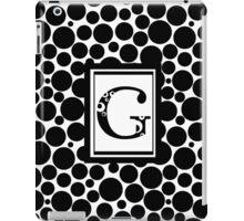 G Bubbles iPad Case/Skin