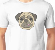 Drawing of a Pug  Unisex T-Shirt