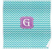 G turquois Poster