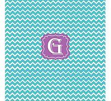 G turquois Photographic Print