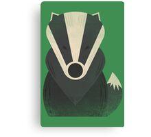 Mr Badger Canvas Print