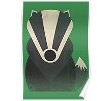 Mr Badger Poster