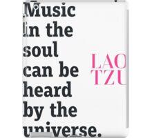 Zen quote  iPad Case/Skin