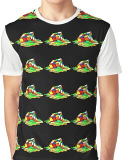 Rubik's Cube Cool Geek Graphic T-Shirt