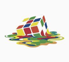 Rubik's Cube Cool Geek Kids Tee