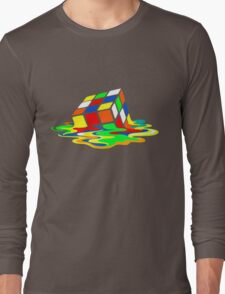 Rubik's Cube Cool Geek Long Sleeve T-Shirt