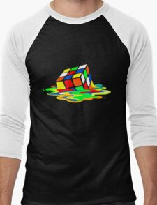 Rubik's Cube Cool Geek Men's Baseball ¾ T-Shirt