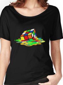 Rubik's Cube Cool Geek Women's Relaxed Fit T-Shirt