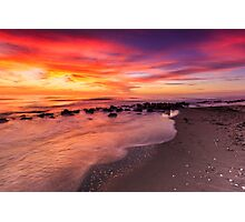 Sunset at Casperson Beach Photographic Print