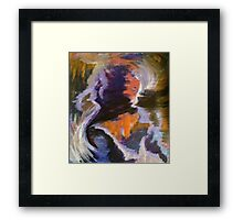 Hot Mess Framed Print