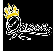Queen (Black) The Hers of the His and Hers Photographic Print