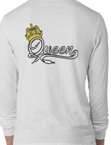 Queen (White) The Hers of the His and Hers Long Sleeve T-Shirt
