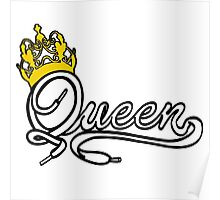 Queen (White) The Hers of the His and Hers Poster
