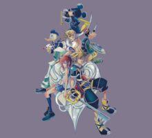 Kingdom Hearts Family Kids Tee