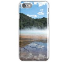 Grand Prismatic Spring iPhone Case/Skin