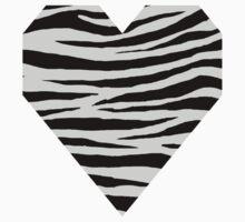 0370 Light Gray Tiger Kids Tee
