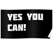 Yes You Can! Poster