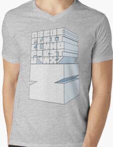 Z's Alphabet Mens V-Neck T-Shirt