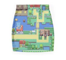 8 BIT SLUM-TOWN  Mini Skirt