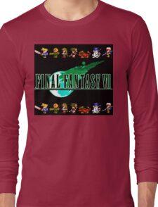Final Fantasy VII Retro Long Sleeve T-Shirt