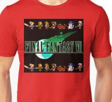 Final Fantasy VII Retro Unisex T-Shirt