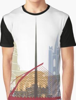 Dublin skyline poster Graphic T-Shirt