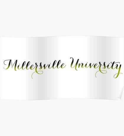 Millersville University of Pennsylvania  Poster