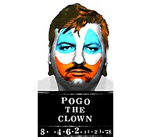 John Wayne Gacy a.k.a Pogo the Clown Photographic Print