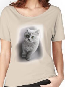 british shorthair kitten /Agat/ Women's Relaxed Fit T-Shirt