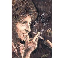 SMOKING DYLAN Photographic Print