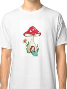 Mushroom Girl Classic T-Shirt
