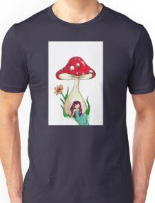 Mushroom Girl Unisex T-Shirt