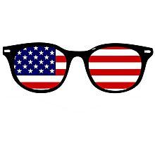 American glasses Photographic Print