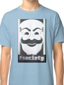 MR. ROBOT F*CK SOCIETY Classic T-Shirt