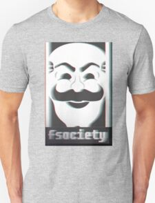 MR. ROBOT F*CK SOCIETY Unisex T-Shirt