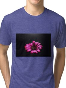 Abstract Daisy Tri-blend T-Shirt