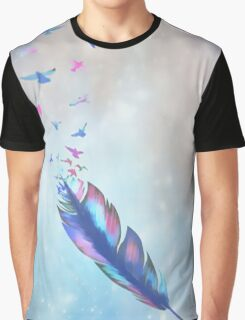 Feathered birds Graphic T-Shirt