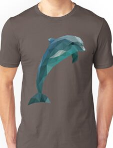 Low Poly Dolphin Unisex T-Shirt